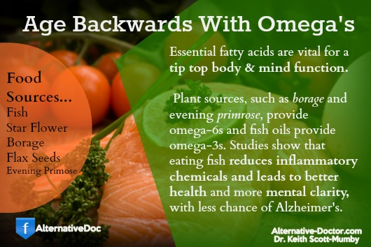 Essential Fatty Acids for Aging Backwards – Infographic