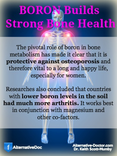 Boron Uses for Strong Bone Health – Infographic