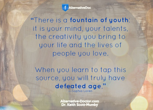 How to Stay Young – Quote