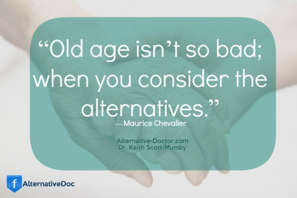 Aging Gracefully…Maurice Chevalier Quote