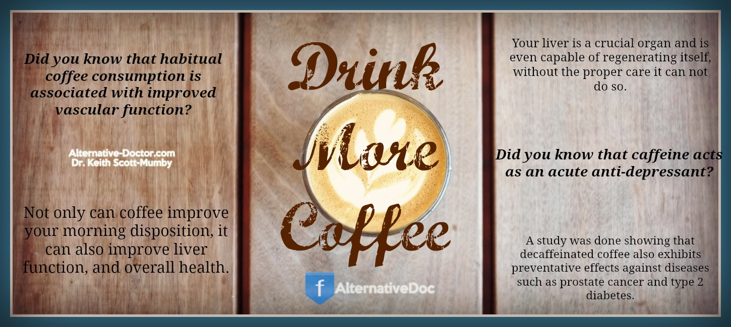 drink more coffee