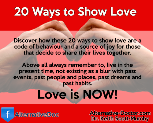 20 Ways to Show Love