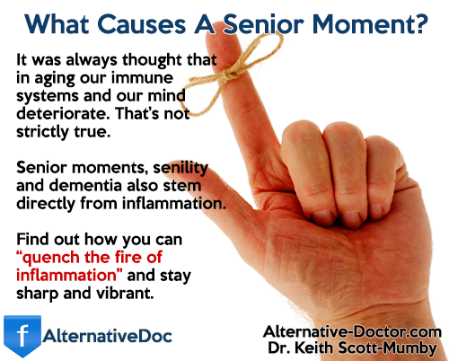 What Causes A Senior Moment?