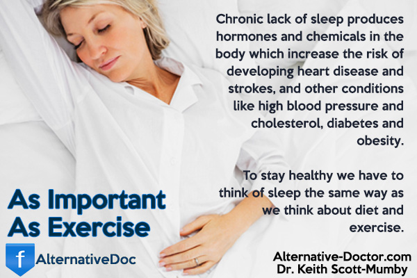 The Benefits of Sleep by the Alternative Doctor