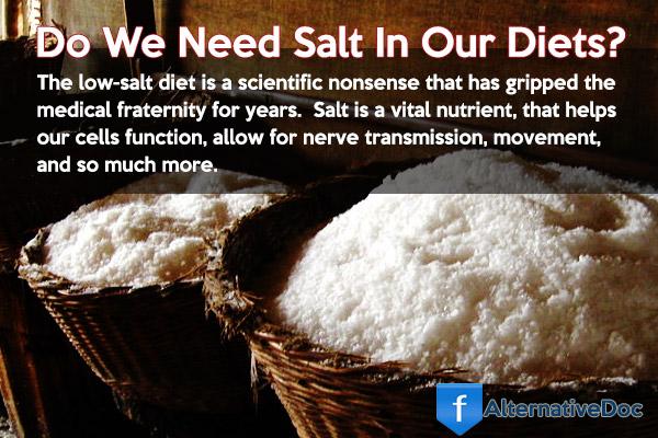 Do we need salt?