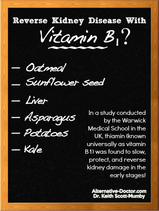 Can Vitamin B1 Reverse Kidney Disease
