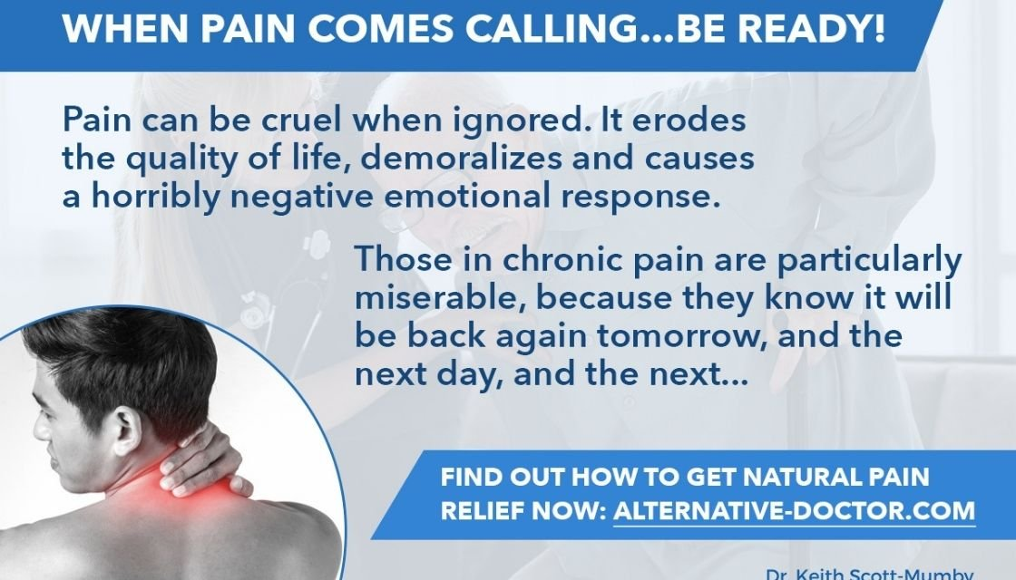 The Ultimate Guide to Natural Pain Relief