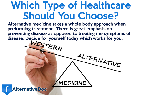 Alternative medicine vs traditional medicine
