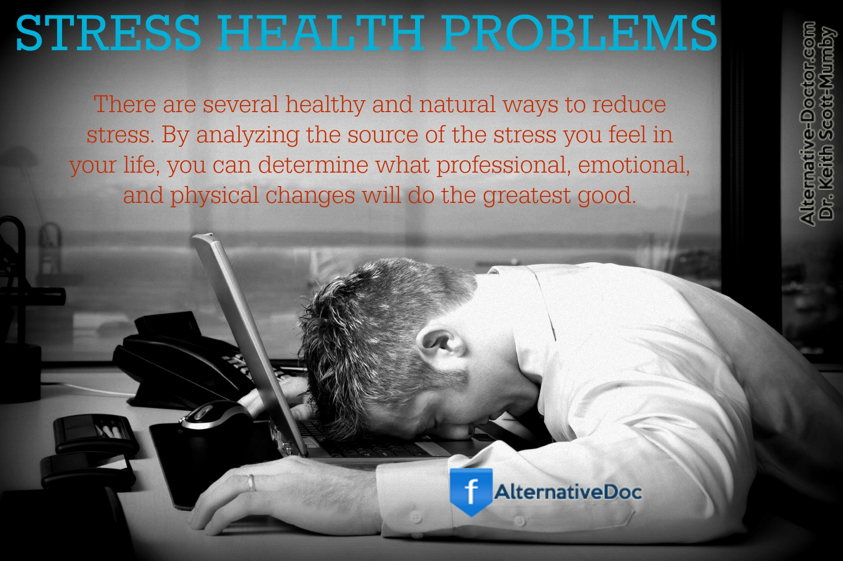 realize stress related health problems