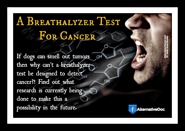 A Breathalyzer Test For Cancer