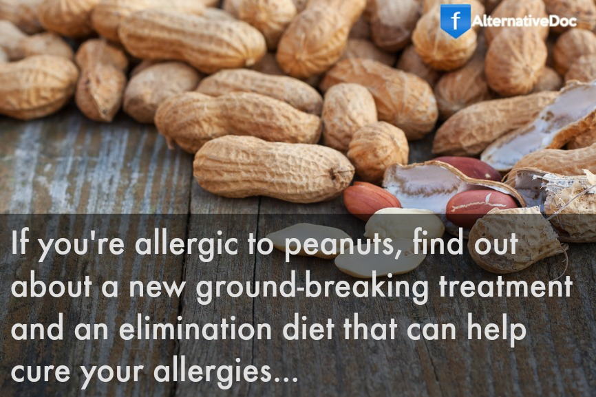 Peanut Allergy Infographic