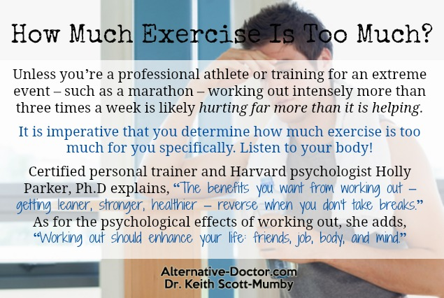 how-much-exercise-is-too-much