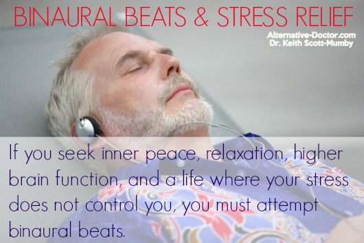 How Binaural Beats Can Provide Stress Relief
