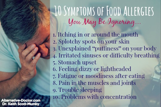 10 Symptoms Of Food Allergies You May Be Ignoring