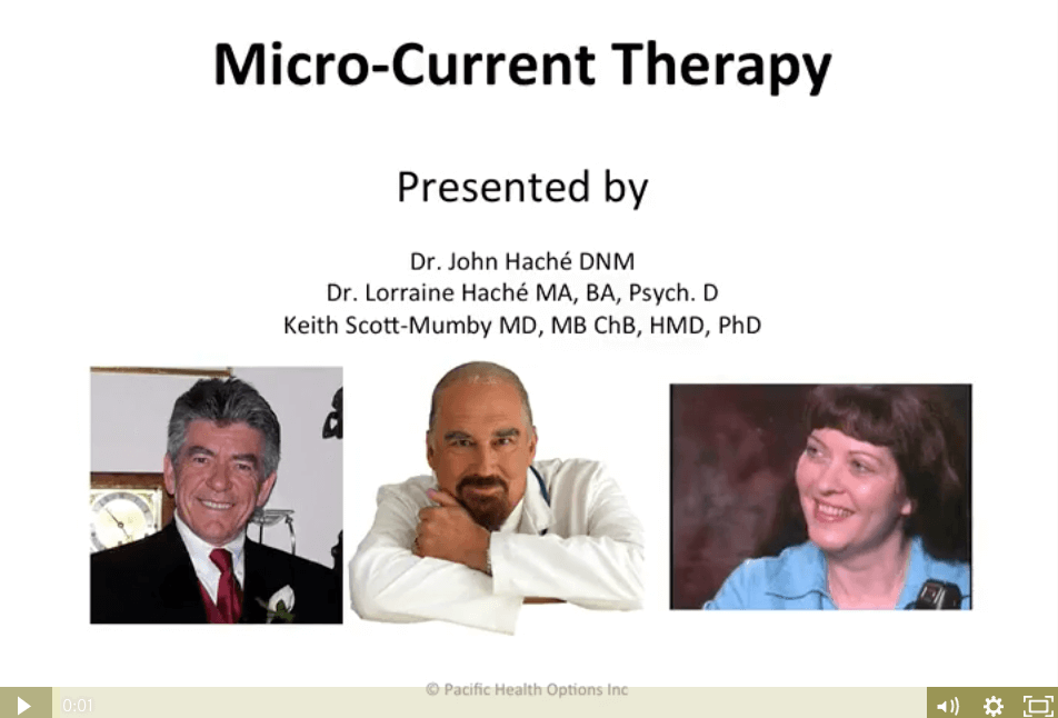 Watch the Micro-Current Therapy (MCT) Webinar Replay!
