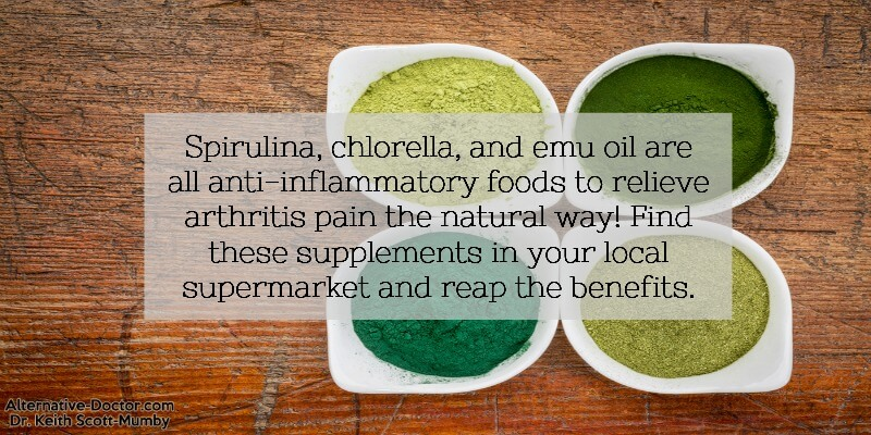 Use these supplements to improve the pain you are feeling from your arthritis the natural way!