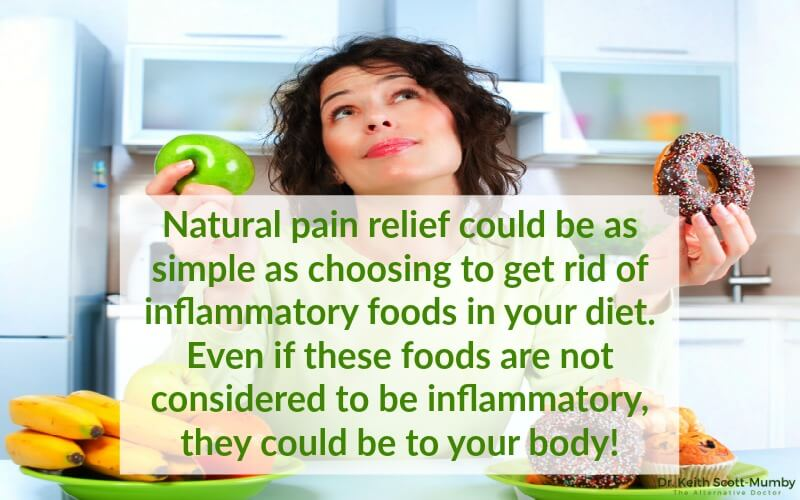 Did you know, natural pain relief could be as simple as changing your diet and getting rid of inflammatory foods? Now you do! Click here to find out more...