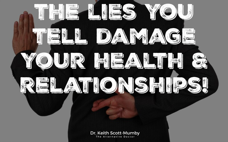 Did you know that the little white lies you tell are actually negatively impacting your health? Click here to learn more about this discovery...