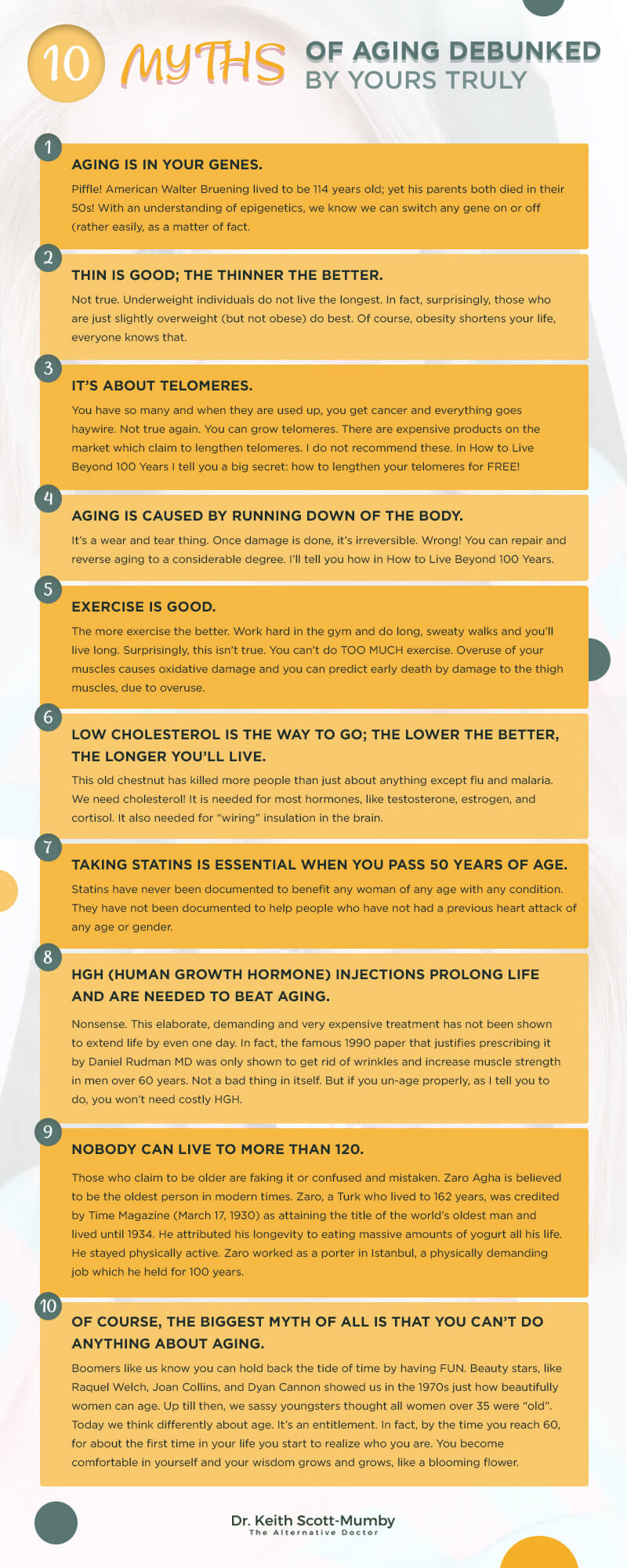 10 Myths About Aging