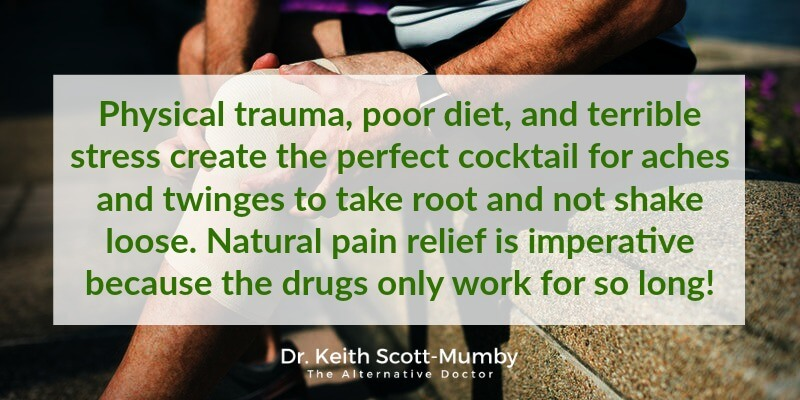 Finding natural chronic pain relief is imperative because the drugs only work for so long (and come with horrible side effects)! Click here to read more...