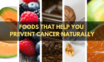 5 Foods That Help You Prevent Cancer Naturally!