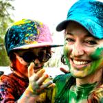Brushstrokes Paint a Happy Life