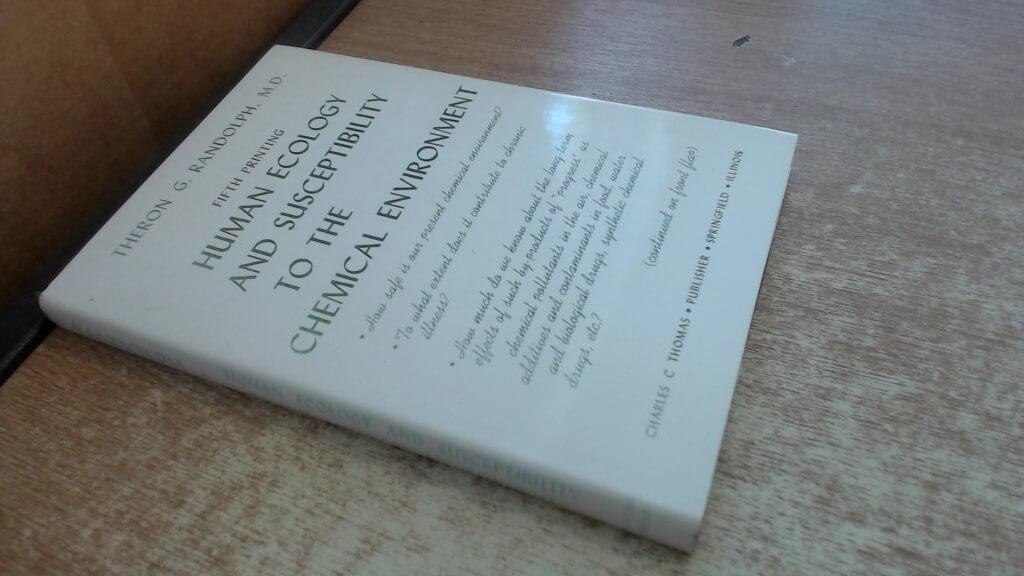 Ted randolph - human ecology book